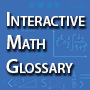 Interactive Math Glossary Icon